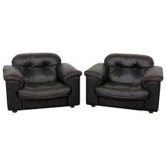 Pair of Mid-Century Modern Club Chairs