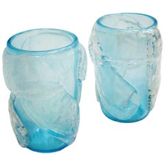 Mid-Century Modern Constantini Murano Glass Italian Vase
