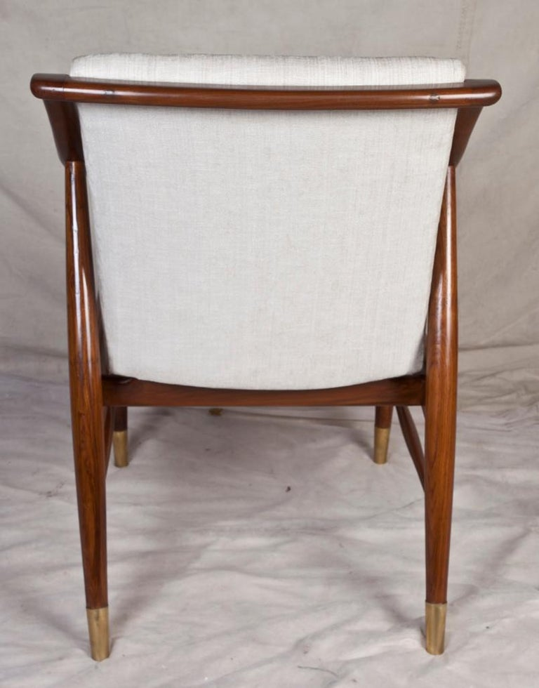 Pair of Mid-Century Modern Danish Teak Chairs For Sale 1