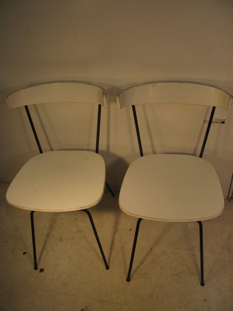 American Pair of Mid-Century Modern Dining Chairs by Clifford Pascoe For Sale