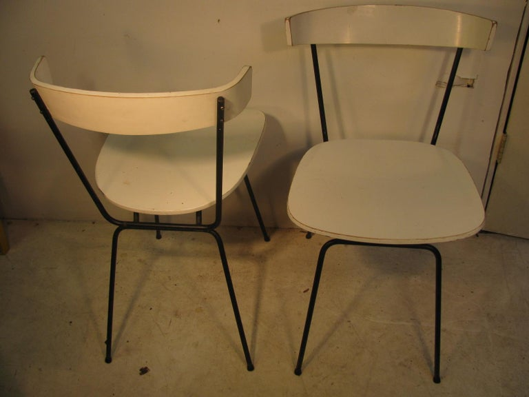 Pair of Mid-Century Modern Dining Chairs by Clifford Pascoe For Sale 1