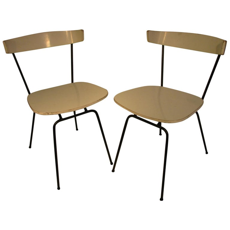 Pair of Mid-Century Modern Dining Chairs by Clifford Pascoe For Sale