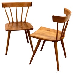 Pair of Mid-Century Modern Dinning Chairs by Paul McCobb Planner Group