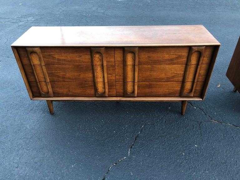 Pair of Mid-Century Modern Dressers by Lane 4