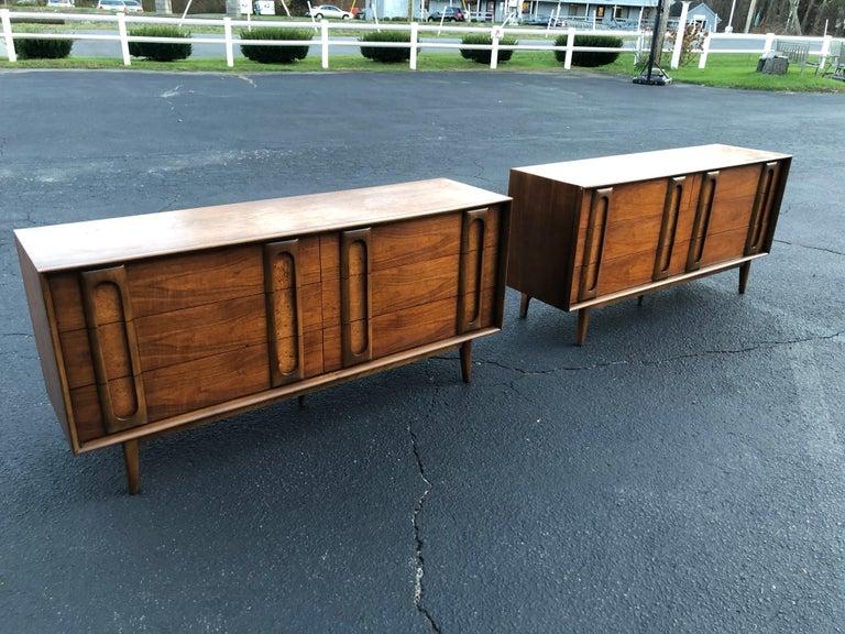 North American Pair of Mid-Century Modern Dressers by Lane