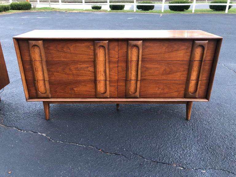 Pair of Mid-Century Modern Dressers by Lane 3