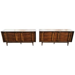 Pair of Mid-Century Modern Dressers by Lane