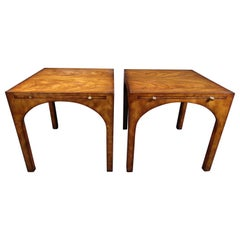 Pair of Mid-Century Modern End Tables by Baker Furniture Co.
