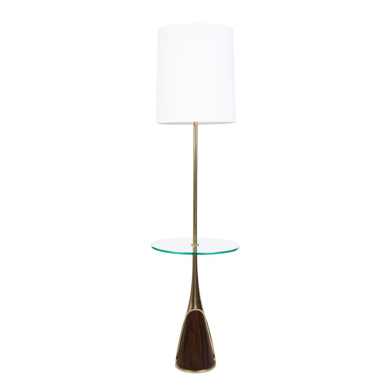 It is a rare sight indeed to find a pair of these moderne ultra chic MCM brass plated lamps with