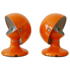 Pair of Mid-Century Modern Jucker Table Lamps by Afra & Tobia Scarpa, 1960s