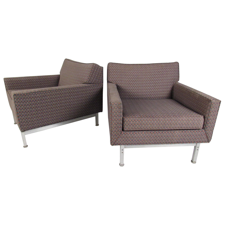 Pair of Mid-Century Modern Knoll Armchairs