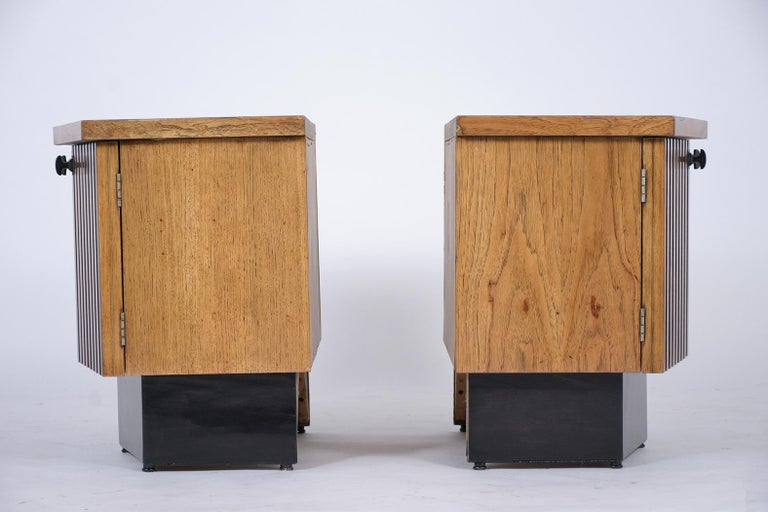 Pair of Midcentury Lacquered Nightstands 5