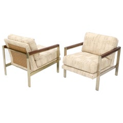 Pair of Mid-Century Modern Lounge Chairs by Drexel