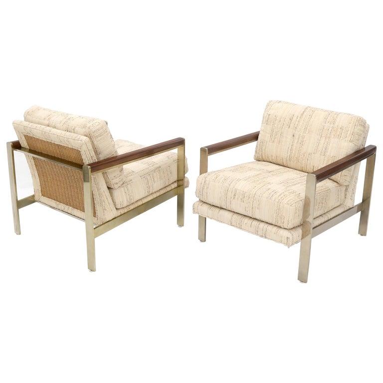 Terrific Pair Of Mid Century Modern Lounge Chairs By Drexel Inzonedesignstudio Interior Chair Design Inzonedesignstudiocom