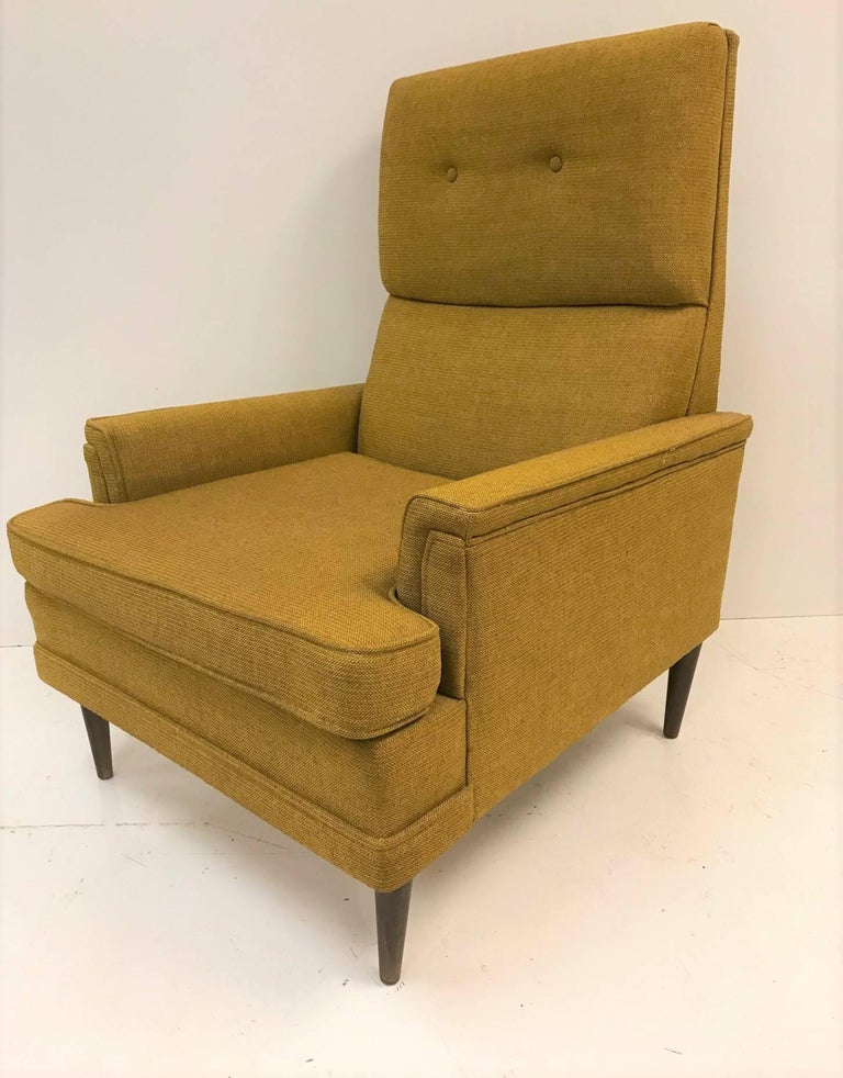 Mid-20th Century Pair of Mid-Century Modern Lounge Chairs For Sale