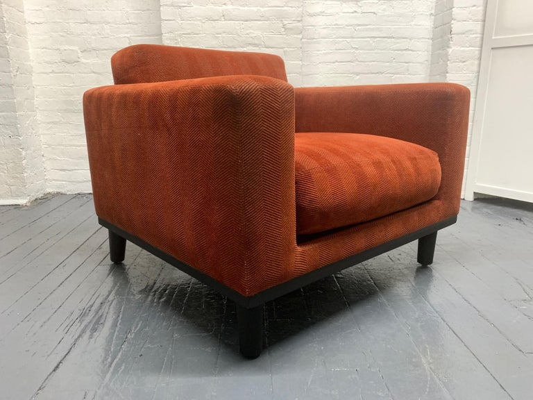 Pair of Mid-Century Modern Lounge Chairs In Good Condition For Sale In New York, NY