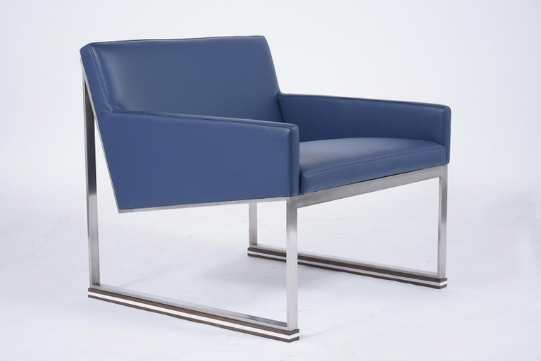Late 20th Century Pair of Mid-Century Modern Lounge Chairs For Sale