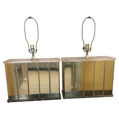 Pair of Mid-Century Modern Meets Hollywood Regional Lamps