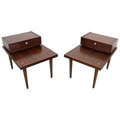 Pair of Mid-Century Modern Merton L. Gershun American of Martinsville End Tables