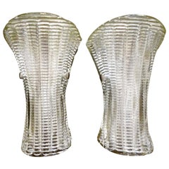 Pair of Mid-Century Modern Murano Glass Sconces