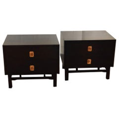 Pair of Mid-Century Modern Nightstands by Kalpe California Design