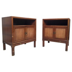 Pair of Mid-Century Modern Nightstands