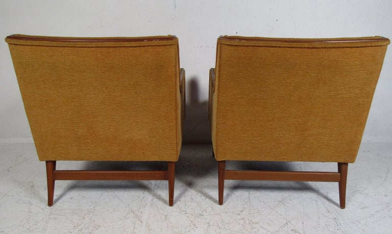 Mid-20th Century Pair of Mid-Century Modern Paul McCobb Lounge Chairs For Sale