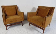 Pair of Mid-Century Modern Paul McCobb Lounge Chairs