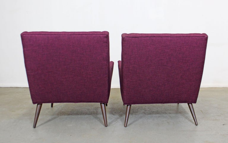 20th Century Pair of Mid-Century Modern Paul McCobb Style Lounge Chairs For Sale