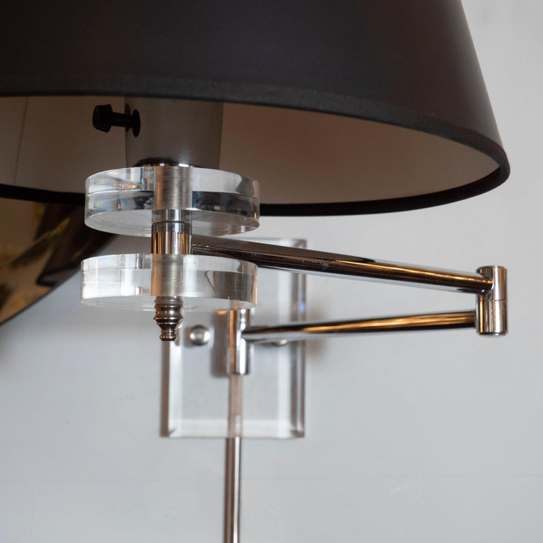 Modern Swing Arm Sconce