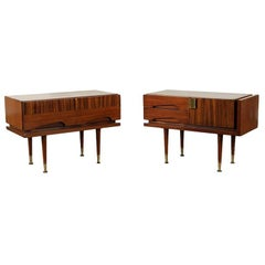 Pair of Mid-Century Modern Side Tables by Vittorio Dassi