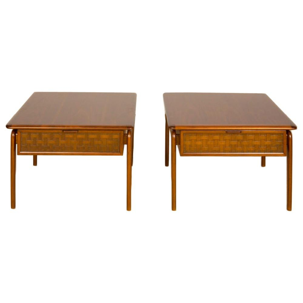 Pair of Mid-Century Modern Side Tables Designed by Lane, Acclaim Series