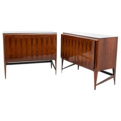 Pair of Mid-Century Modern Sideboards, Italy, 1950s