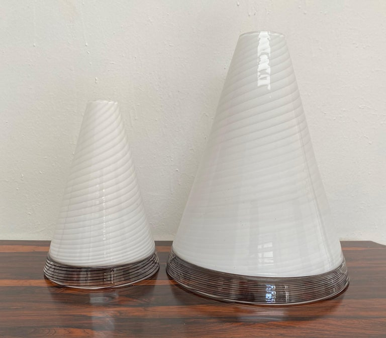 Pair of Mid-Century Modern Table Lamps by Giusto Toso, Murano Italy, ca.1970 For Sale 4