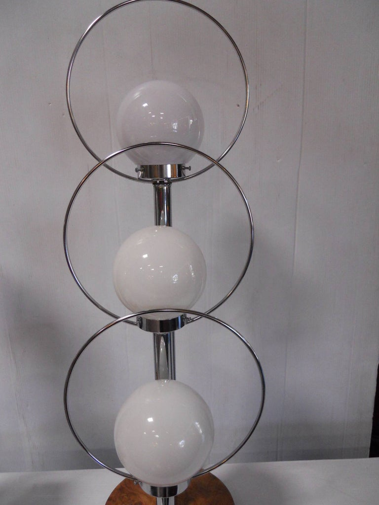 Pair of Mid-Century Modern Table Lamps In Excellent Condition For Sale In Los Angeles, CA