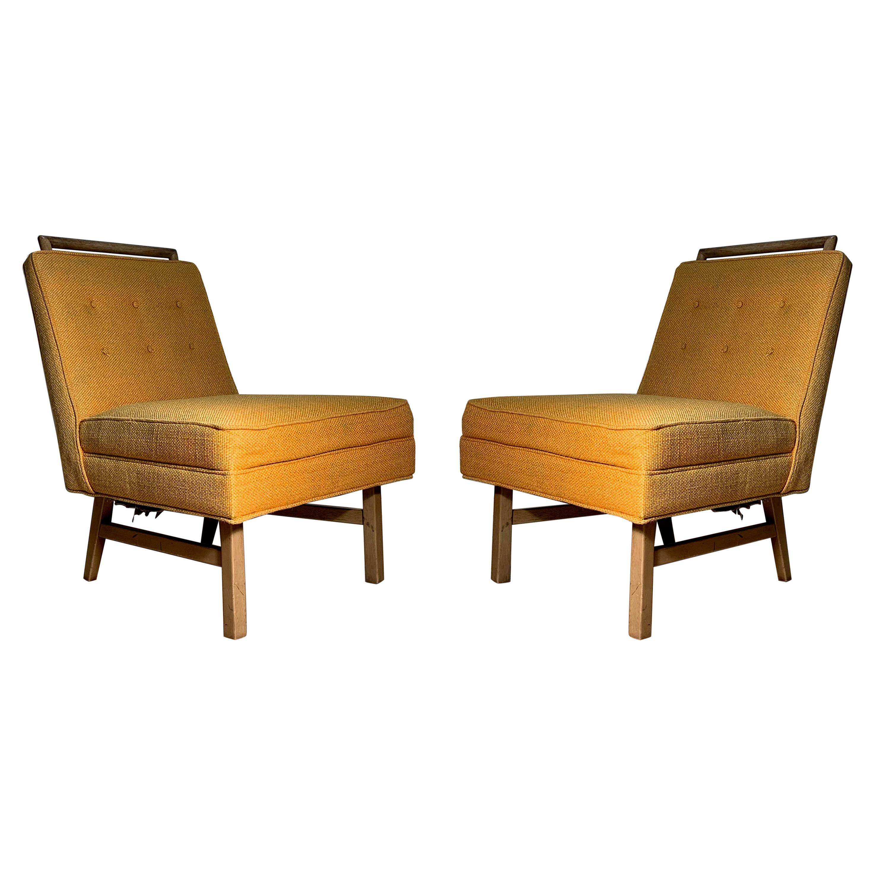 Pair of Mid-Century Modern Vintage Side Chairs