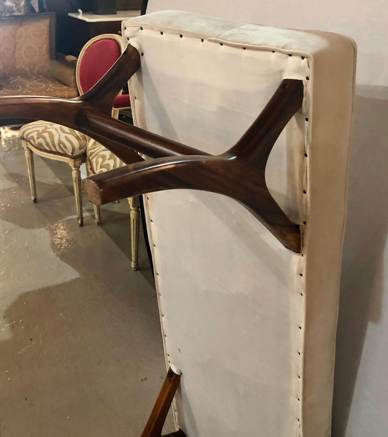 Pair of Mid-Century Modern Window Benches or Stools For Sale 6