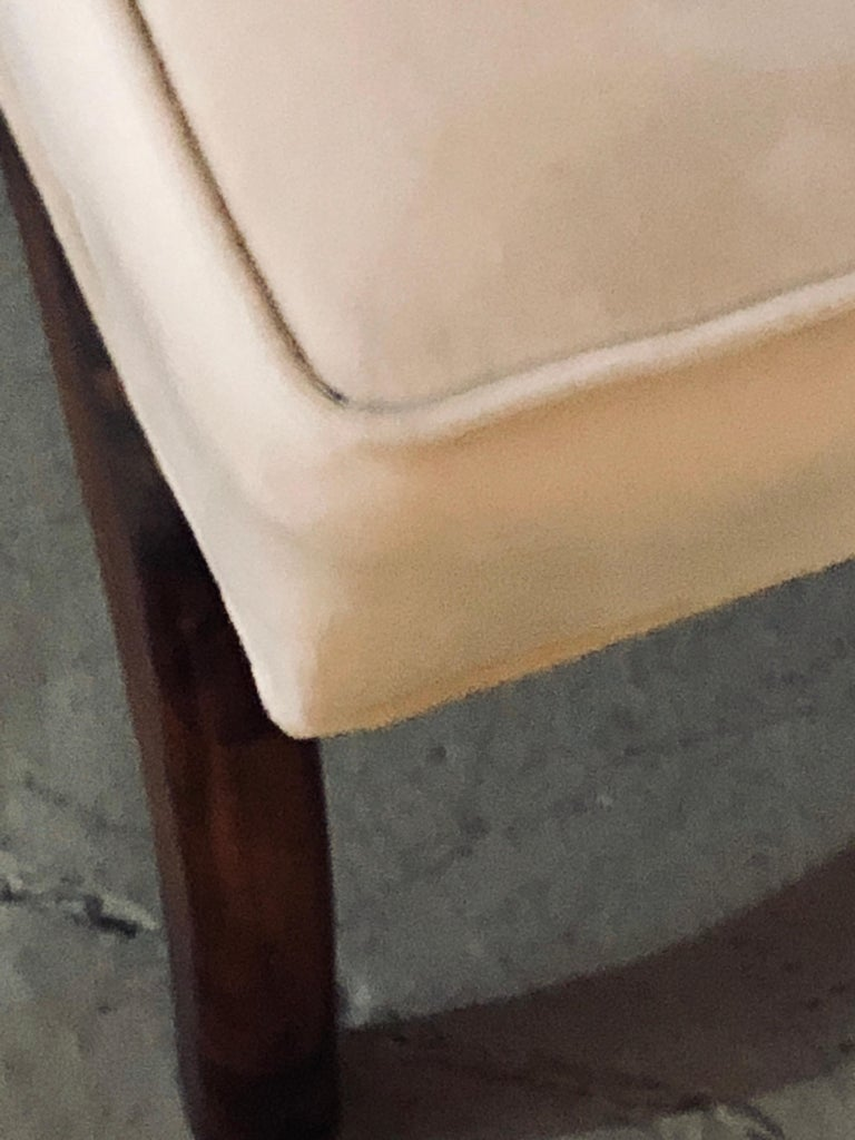 Pair of Mid-Century Modern Window Benches or Stools For Sale 4