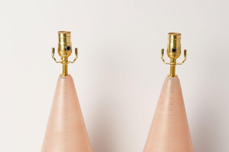 Mid-Century Modern Pair of Midcentury Murano Table Lamps For Sale