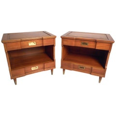 Pair of Midcentury Nightstands by John Widdicomb