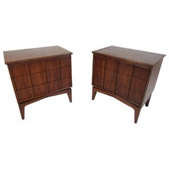 "Pair of Midcentury Nightstands, Kent Coffey's ""Parkway"" Line"