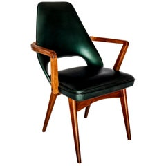 Pair of Mid-Century Rosewood Dining Armchairs Attributed to Finn Juhl, 1950s