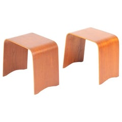 Pair of Midcentury Side tables in Teak by Fritz Hansen, Made in Denmark, 1960s
