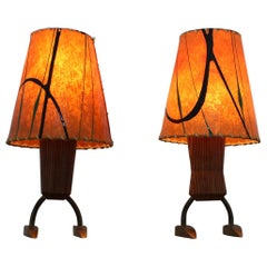 Pair of Midcentury Table Lamps, 1960s