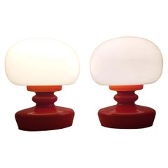 Pair of Midcentury Table Lamps, 1970s