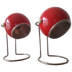 Pair of Mid Century Table Lamps, 1970s