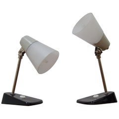 Pair of Mid-Century Table Lamps, 1970's
