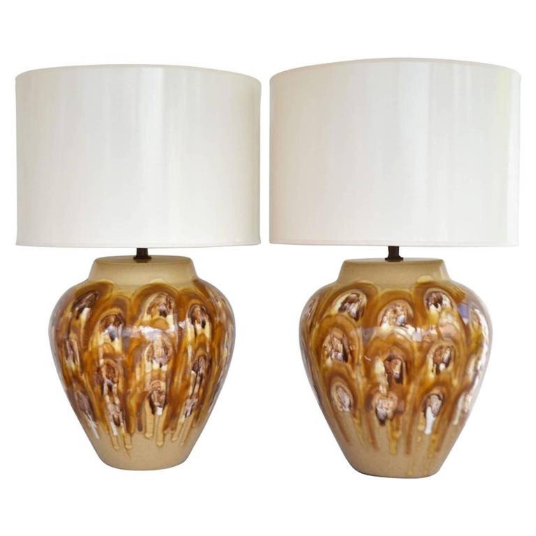 Pair of Midcentury Table Lamps