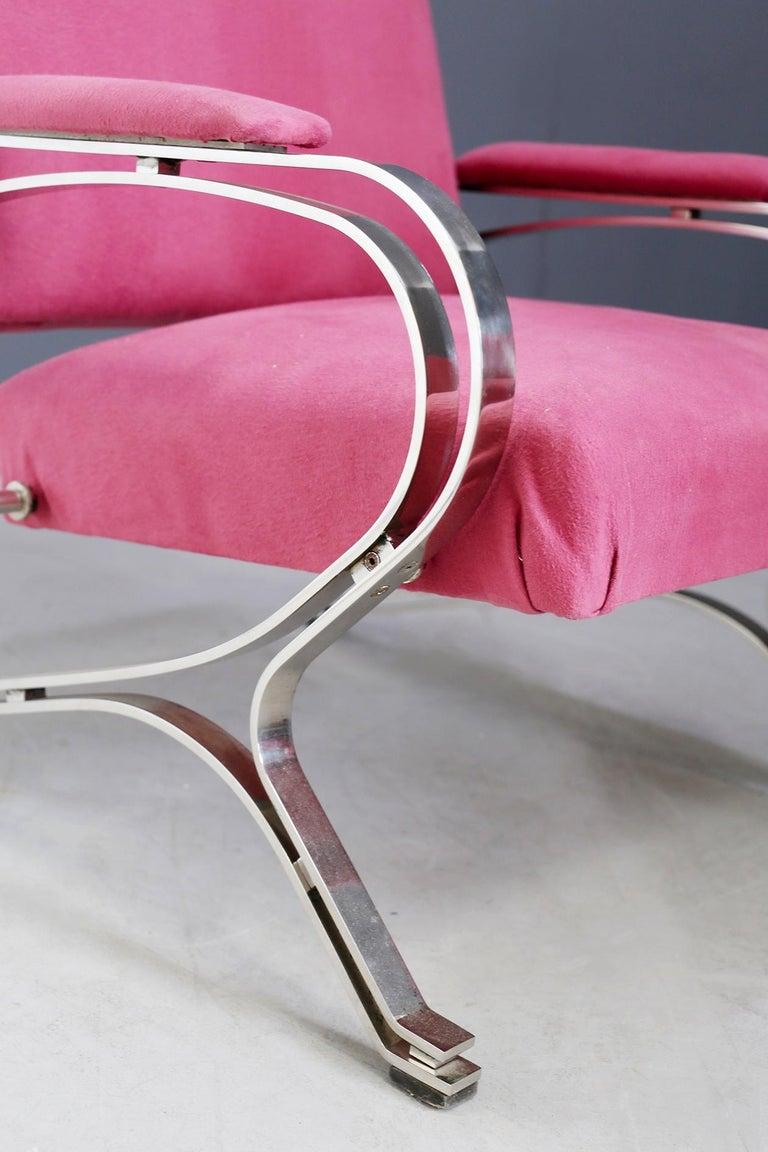 Italian Pair of Midcentury armchair