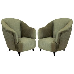 Pair of Midcentury Armchairs by Ulrich